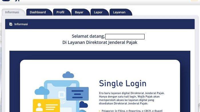Panduan Cara Lapor SPT Tahunan PPh Online, Segera Login djponline.pajak.go.id Sebelum 31 Maret