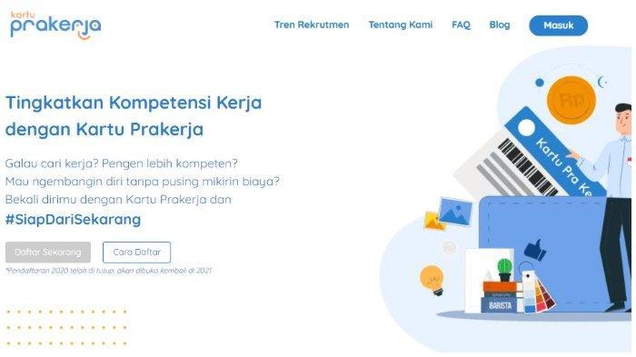SEGERA LOGIN www.prakerja.go.id untuk Daftar Kartu Prakerja Gelombang 15, Berikut Syarat dan Caranya
